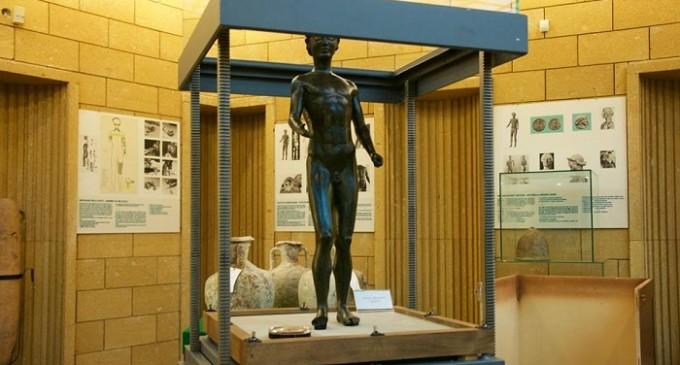 Per la prima volta nella storia l'Efebo a Selinunte