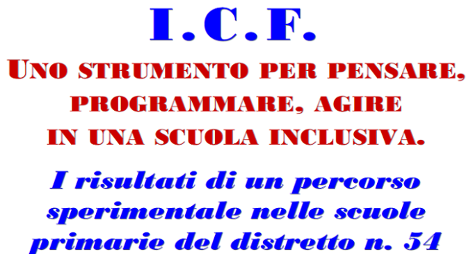 """Venerdì 23 ottobre il convegno """"I.C.F., Uno strumento per la scuola inclusiva"""""""