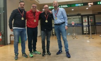 """I """"Nati Stanchi"""" ben figurano alla maratona """"Venicemarathon"""""""
