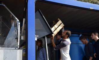 Il Liceo Scientifico di Castelvetrano scopre il macchinario per il recupero della Posidonia a Selinunte