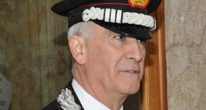 Comandante Generale dell'Arma dei Carabinieri Del Sette in visita a reparti della Sicilia occidentale