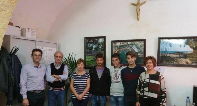 """Gli studenti del Geometra """"D'Altavilla-Accardi"""" in stage al Comune di Campobello"""