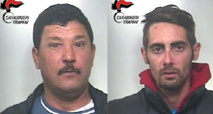 Vari arresti dei Carabinieri tra Mazara, Campobello e Vita
