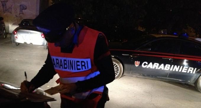 Controlli straordinari dei Carabinieri di Alcamo durante il week-end