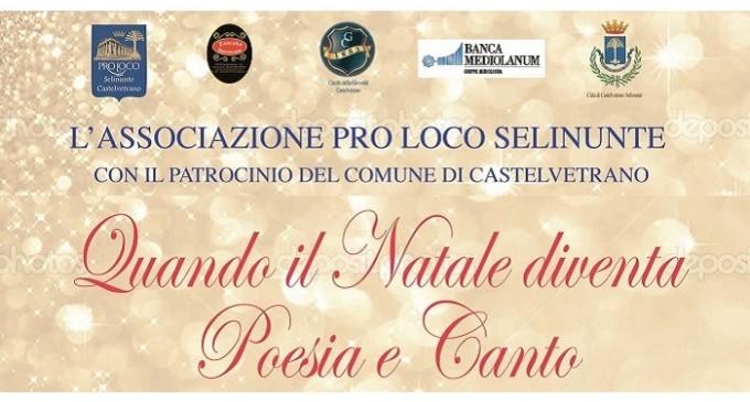 """Castelvetrano: domani la 6° edizione di """"Quando il Natale vuol dire poesia e canto"""""""