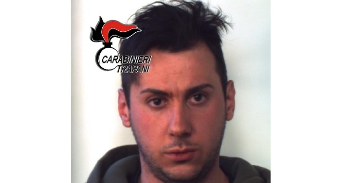 Controllo del territorio da parte dei Carabinieri, arrestato un 27enne ericino