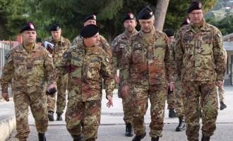 Trapani: il Comandante del 2° Comando delle Forze di Difesa in visita al 6° Reggimento Bersaglieri