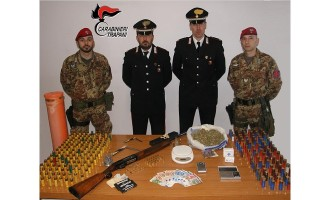 Carabinieri Compagnia Trapani: controlli a tappeto nel fine settimana, un arresto