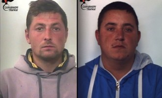 Marsala: rintracciati dai Carabinieri due rumeni gravati da un mandato d'arresto europeo