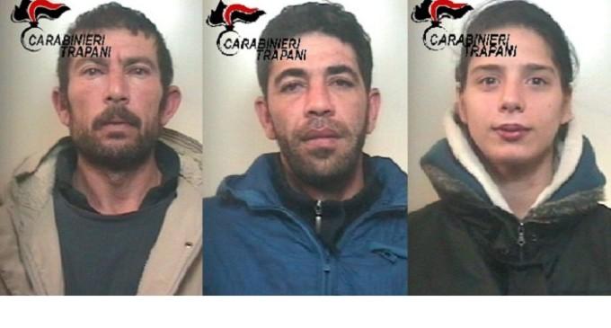 Alcamo: furto in appartamento, arrestati tre ladri in flagranza