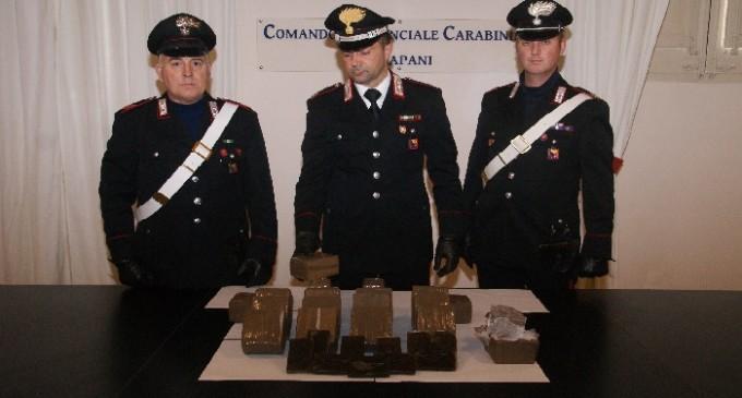 Trapani: operazione antidroga dei Carabinieri, 45enne in manette