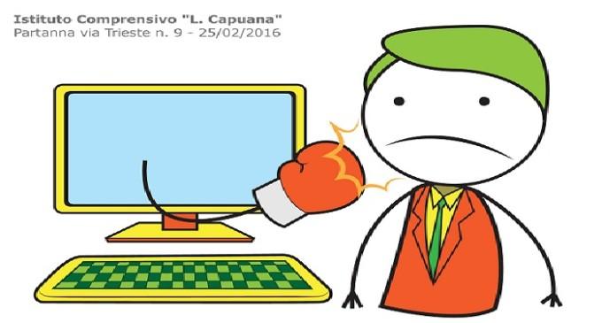"""Cyberbullismo: giovedì 25 febbraio la Polizia Postale ha incontrato gli alunni del """"L. Capuana"""" di Partanna"""