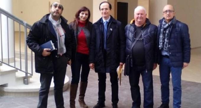 """Sopralluogo Uilpa Polizia Penitenziaria al nuovo tribunale di Marsala, Veneziano: """"Chiediamo più sicurezza"""""""