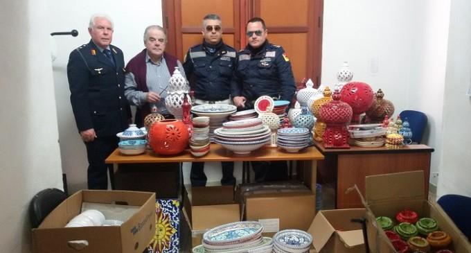 Castelvetrano: donati alla Pro-Loco Selinunte oggetti per un'asta di beneficenza