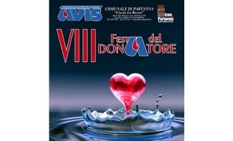 """Partanna: domani """"VIII Festa del Donatore"""" Avis"""