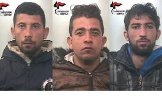 Arrestati dai Carabinieri di Pantelleria 3 cittadini tunisini per furto in abitazione