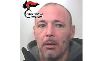 Compagnia Carabinieri Trapani: evade dai domiciliari, arrestato