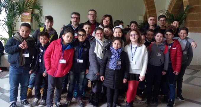 """Gli alunni dell'I. C. """"L. Capuana"""" di Partanna hanno partecipato al Torneo Provinciale di Scacchi"""