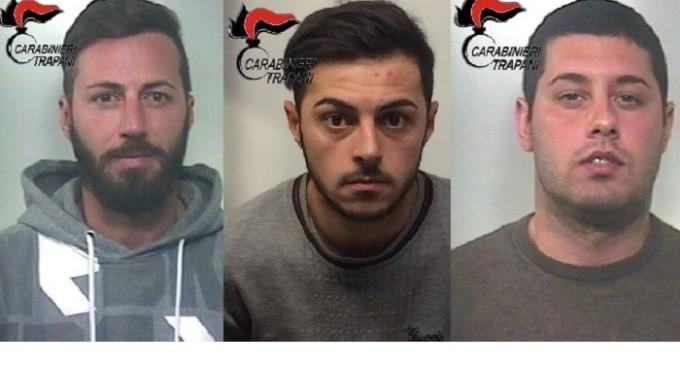 [VIDEO] Rapina in istituto di credito a Salemi, Carabinieri arrestano tre malviventi