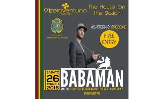 Campobello: sabato 26 marzo appuntamento Reggae in piazza con Babaman
