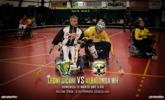Domani a Sciacca hockey su carrozzina: Leoni Sicani vs Albalonga