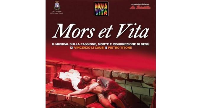 """Marsala: torna al Teatro Impero """"Mors et Vita"""", il musical sulla Passione di Cristo"""