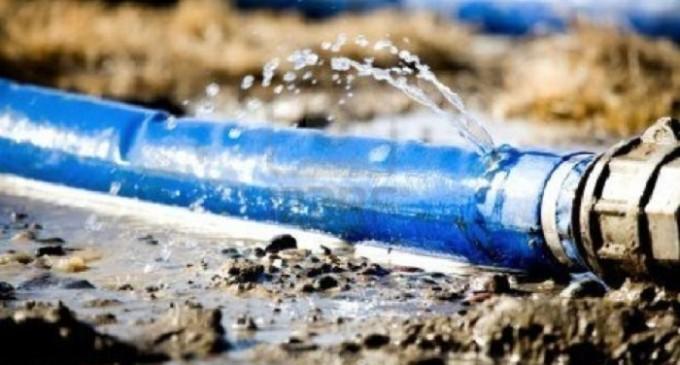 Spreco idrico a Partanna: segnalazione di un utente
