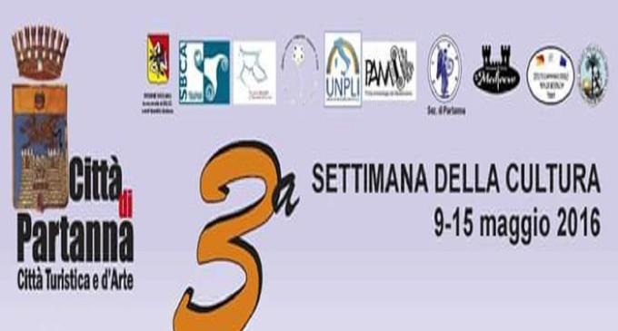 """Partanna: dal 9 al 15 maggio la """"3° Settimana della Cultura"""""""