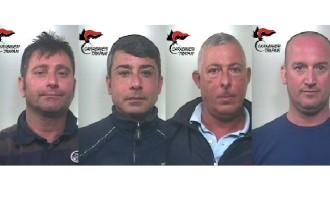Rapina in istituto di credito a Mazara: Carabinieri arrestano 4 malviventi