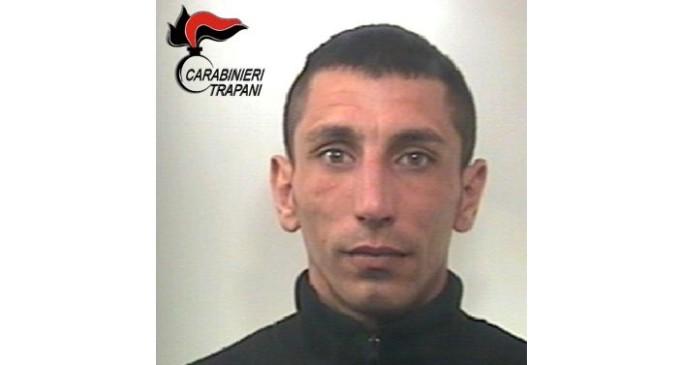 Marsala: arrestato un pregiudicato per evasione