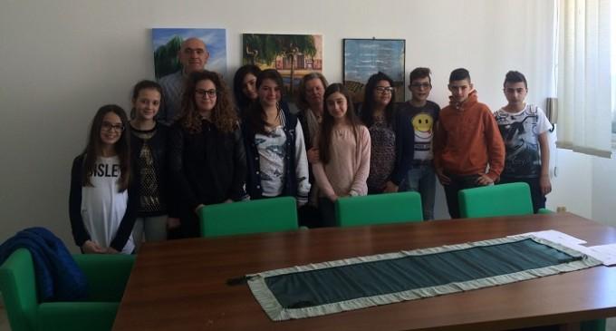 Santa Ninfa: studenti del corso di giornalismo incontrano il sindaco