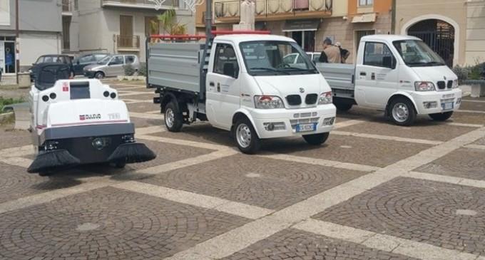 Comune di Partanna: acquistati nuovi mezzi per il Decoro Urbano