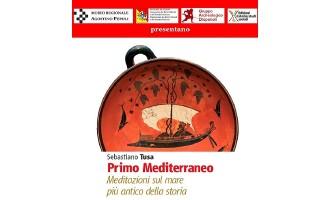 """Trapani: lunedì 2 maggio presentazione del libro """"Primo Mediterraneo"""" di Sebastiano Tusa"""