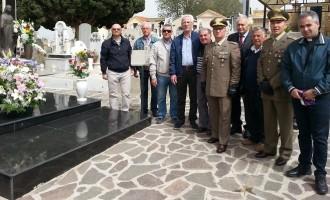 Partanna: cerimonia commemorativa in memoria del maresciallo Vincenzo Li Causi