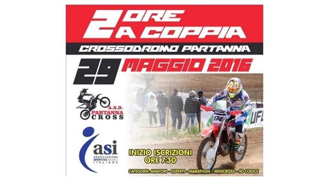 Domenica 29 maggio manifestazione motoristica presso il Crossodromo Partanna