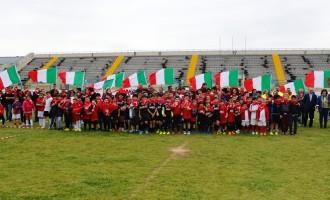 """Concluso il 1° torneo di mini rugby """"1000 mete"""" Città di Marsala"""