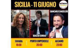#CambiamoTutto Tour, sabato 11 giugno in Sicilia Paola Taverna