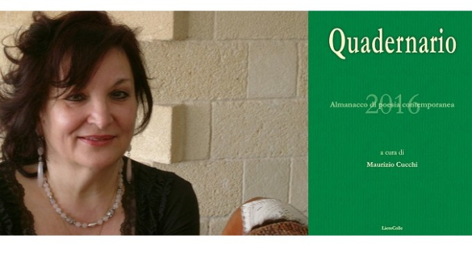 """Nel """"Quadernario 2016"""" di Lietocolle inserita anche la poetessa siciliana Franca Alaimo"""