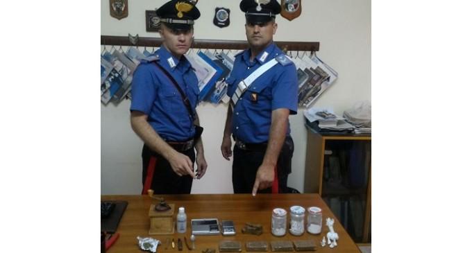 Castellammare: nascondeva droga all'interno dell'abitazione, arrestato un uomo