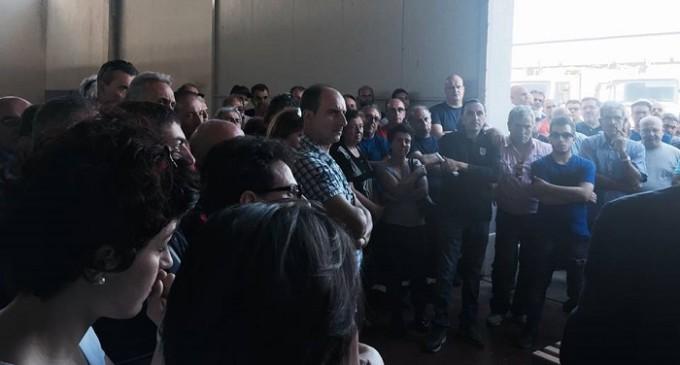 A Trapani oltre 90% dei lavoratori dell'igiene ambientale aderisce allo sciopero nazionale
