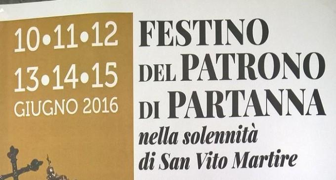 Partanna: programma della Festa del Patrono San Vito
