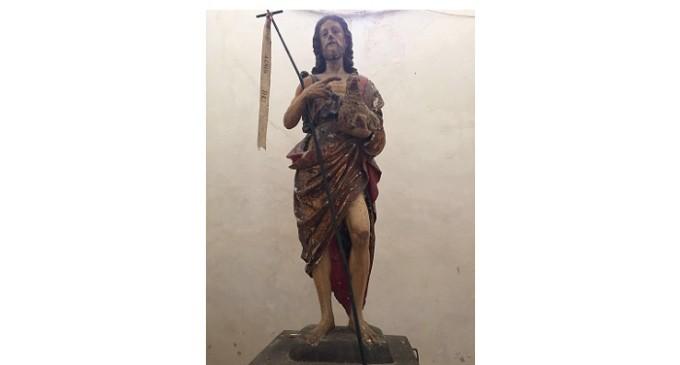 Partanna: serata di beneficenza per il restauro di una statua lignea