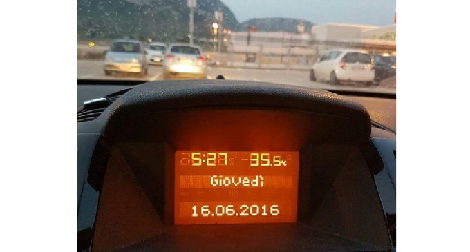 [Flash News] Temperature anomale in Sicilia