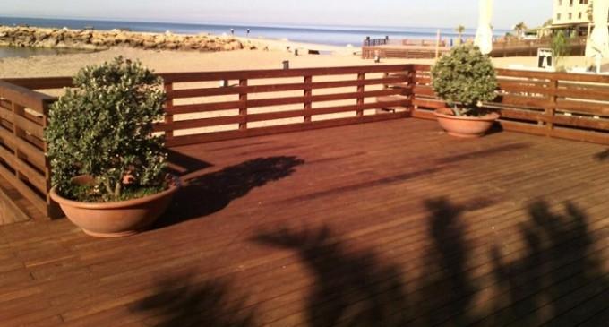 Completati i lavori della piazza in legno a Marinella di Selinunte