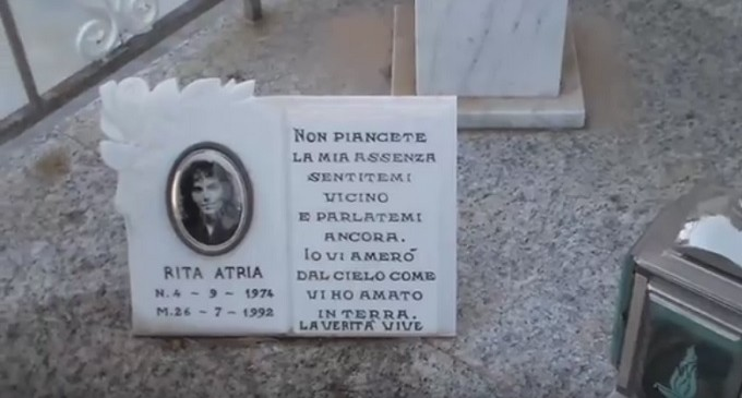 [VIDEO] Partanna: 24° Anniversario della morte di Rita Atria