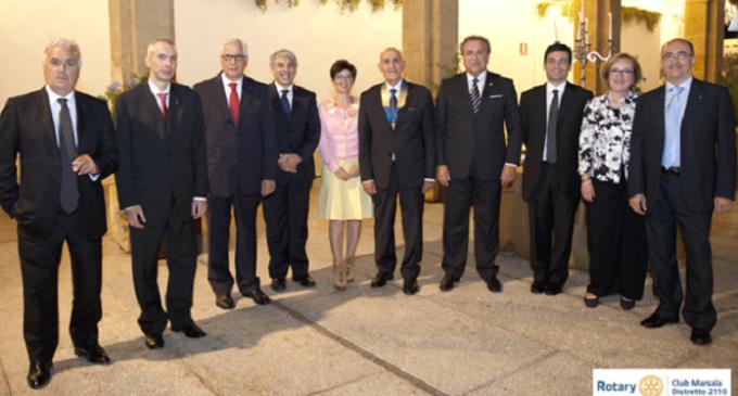 Rotary Club Marsala: passaggio della campana (A.R. 2016-2017)