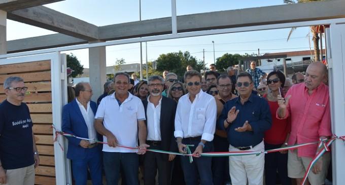 Inaugurato il teatro comunale Franco Franchi e Ciccio Ingrassia a Triscina di Selinunte