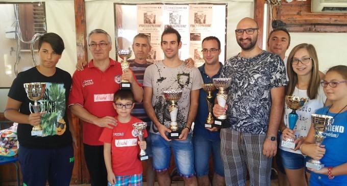 """Partanna: 14° Trofeo di scacchi """"Valle del Belice"""", vince il mazarese Giuseppe Imburgia"""