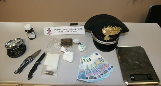 Castelvetrano: Carabinieri arrestano un uomo per detenzione ai fini di spaccio