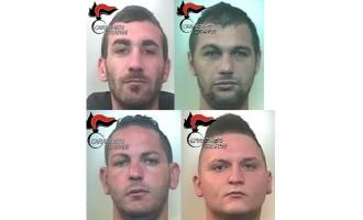 """""""Cavallo di ritorno"""": quattro arresti dei Carabinieri"""